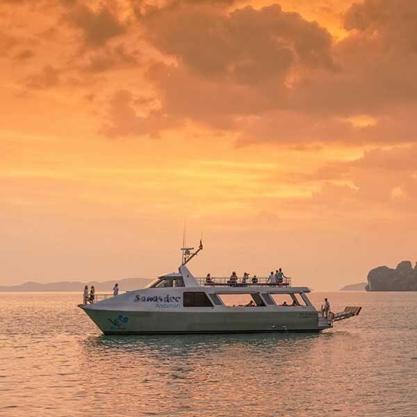 half-day-trip-premium-sawasdee-twilight-phang-nga-bay-by-catamaran