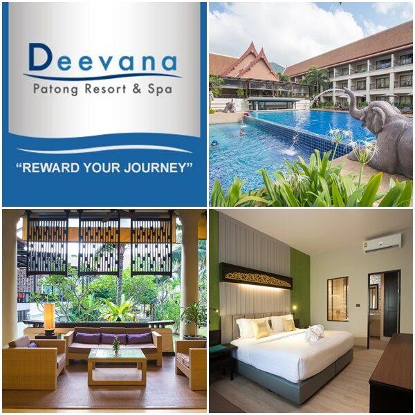 Deevana Patong Resort & Spa 4 star Hotel