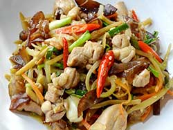 stir-fried-chicken-with-fresh-ginger
