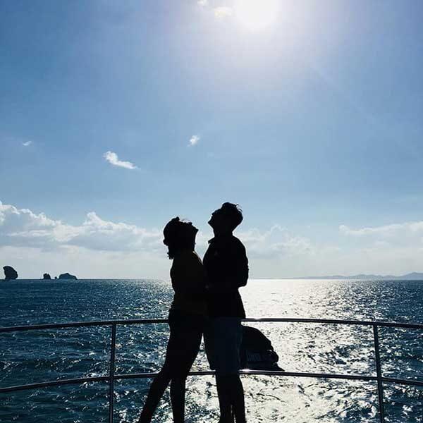Krabi-Half-day-afternoon-Sunset-4-islands-Catamaran-4