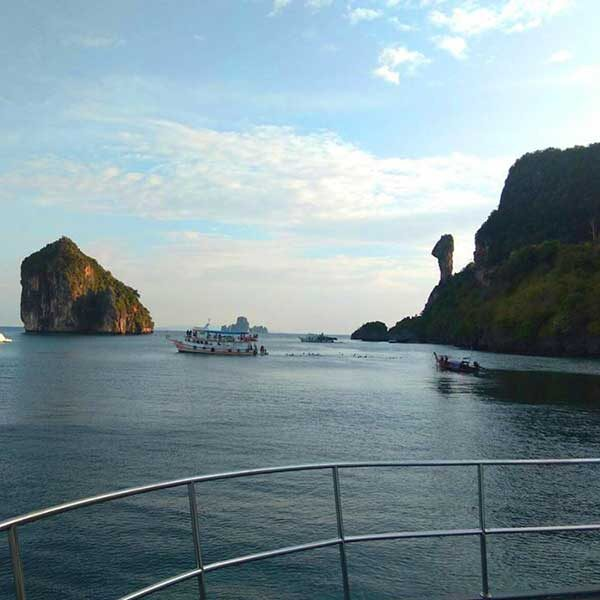 Krabi-Half-day-afternoon-Sunset-4-islands-Catamaran