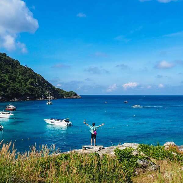 Phuket-Full-day-trip-Raya-Island-Coral-Island-by-speedboat