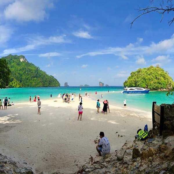 Premium-One-Day-Trip-Krabi-4-islands-Hopping-Tour-By-Speedboat