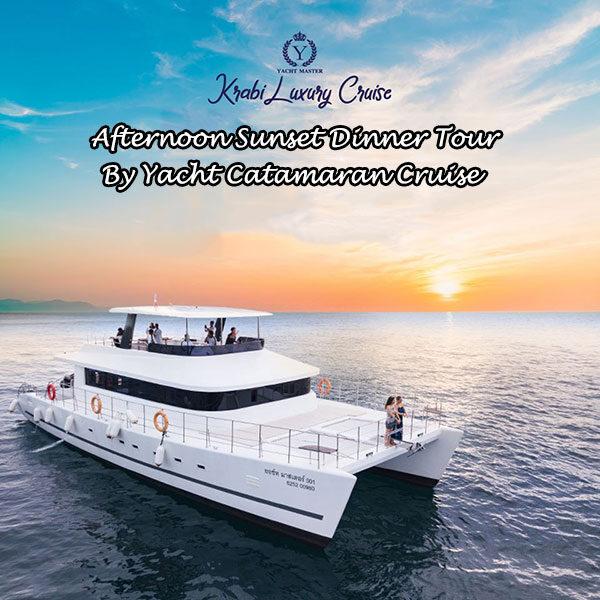 afternoon-krabi-sunset-tour-yacht-catamaran