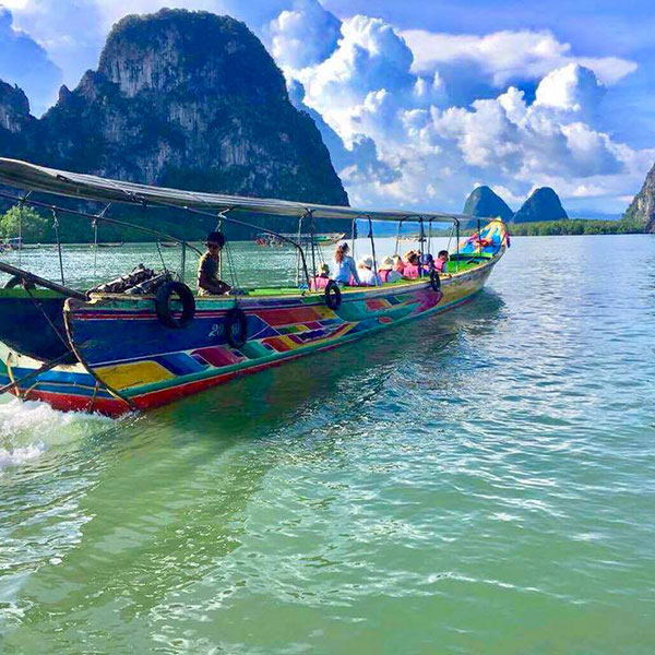 cheap-phang-nga-bay-tour-long-tail-boat