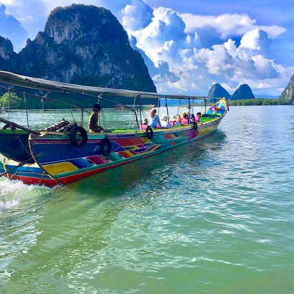 cheap-phang-nga-bay-tour-long-tail-boat