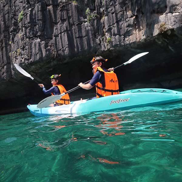 full-day-trip-maiton-island-phi-phi-island-sunset-cruise-by-power-catamaran