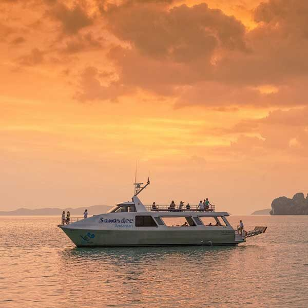 half-day-trip-premium-sawasdee-twilight-phang-nga-bay-by-catamaran