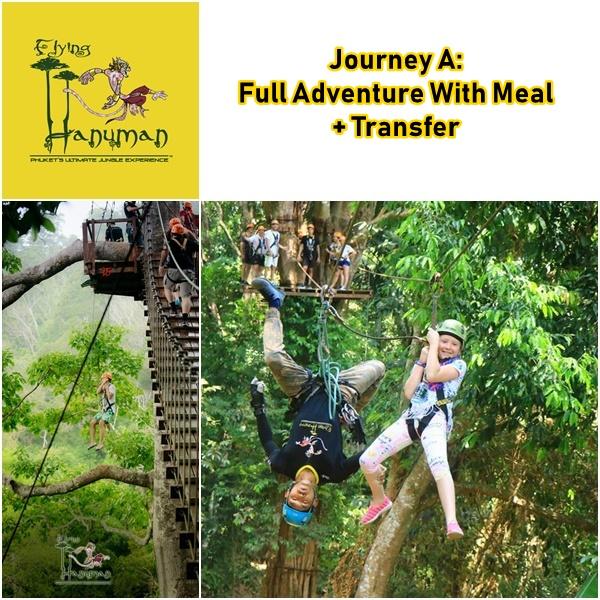Journey A Full Adventure Flying Hanuman Phuket