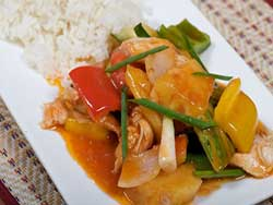 phuket-kathu-thai-cooking-school-sweet-sour-chicken