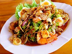 thai-cuisine-cooking-school-blue-elephant-winged-bean-salad-with-prawns