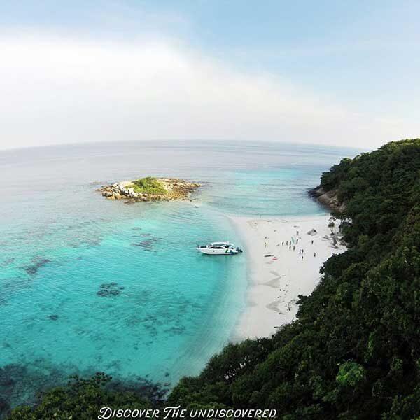 Catamaran-Tour-Paradise-Beach-Racha-Noi-Island