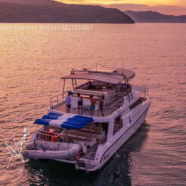 Phuket-Full-day-trip-Sunset-Cruise-Koh-Rok-Power-Catamaran-3