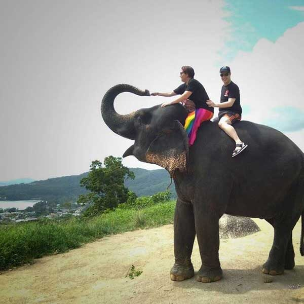 Learn-to-ride-bareback-30-mins-experienced-instructor-Elephant-Phuket-2