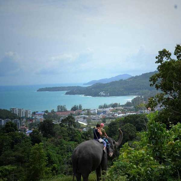 Learn-to-ride-bareback-30-mins-experienced-instructor-Elephant-Phuket-4