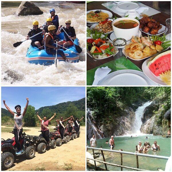 Full Day White Water Rafting ATV 30 min. Phuket Adventure