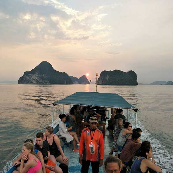 Krabi-Afternoon-Sunset-Tour-Hong-Island-by-big-boat-2