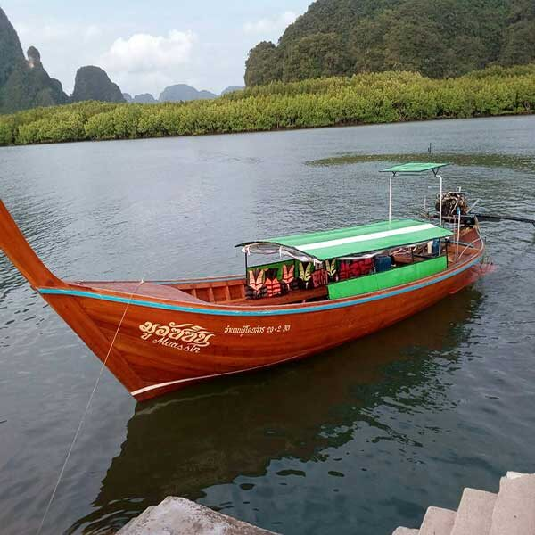 Krabi-Afternoon-Sunset-Tour-Hong-Island-by-long-tail-boat-5