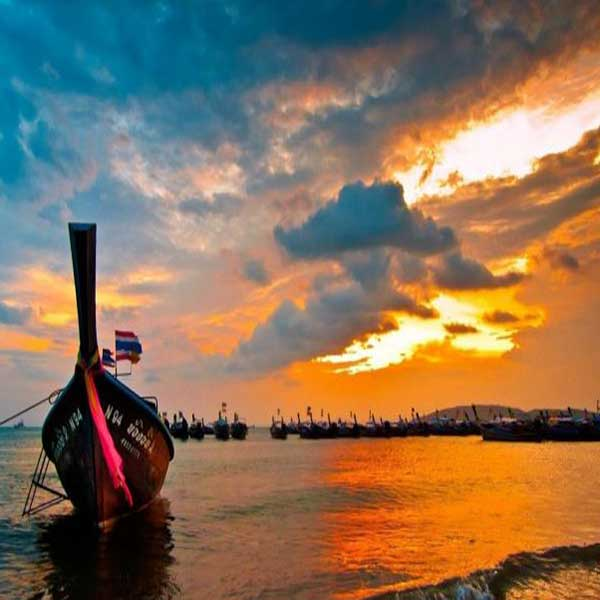 Krabi-Afternoon-Sunset-Tour-Hong-Island-by-long-tail-boat