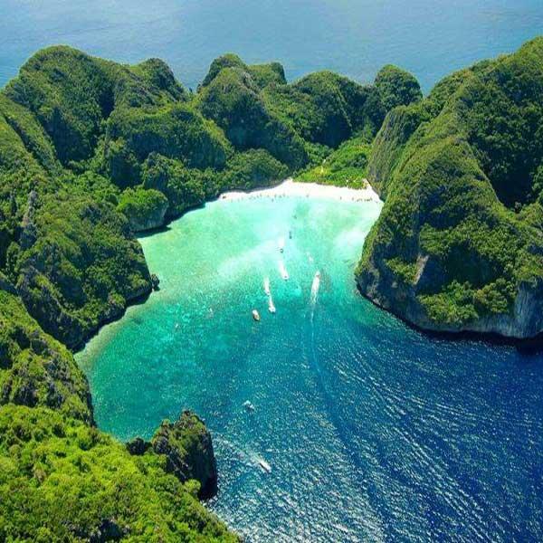 Phi Phi Island: Krabi Day Tour Phi Phi Island + Bamboo Island By Speedboat