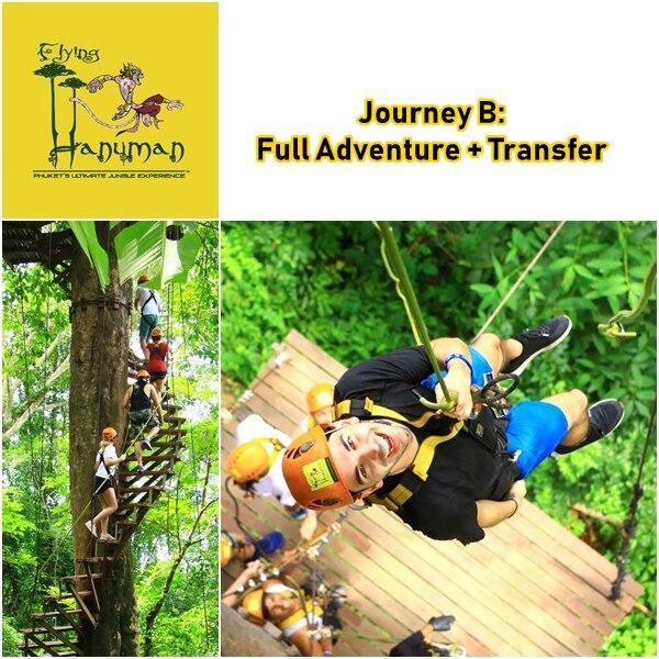 Journey B Full Adventure Flying Hanuman Phuket