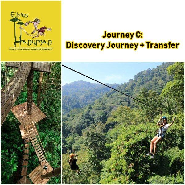 Journey C Discovery Flying Hanuman Phuket