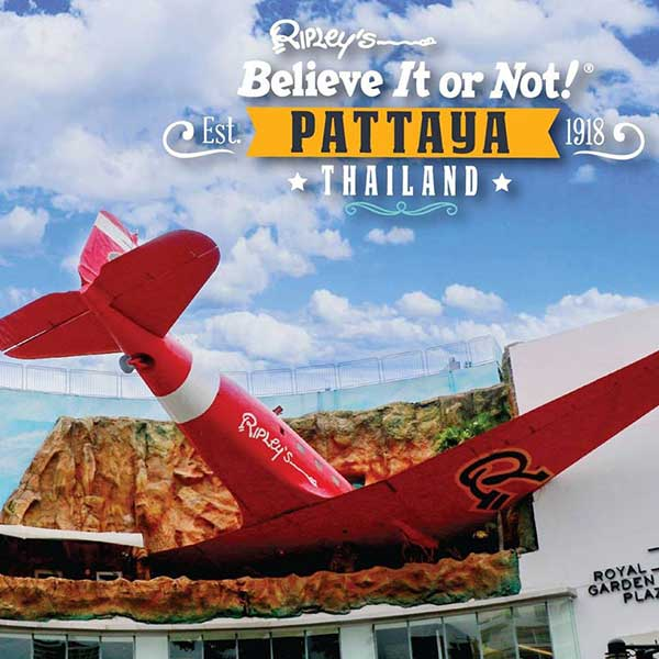 Pattaya-attraction-Ripley's-Believe-It-or-Not