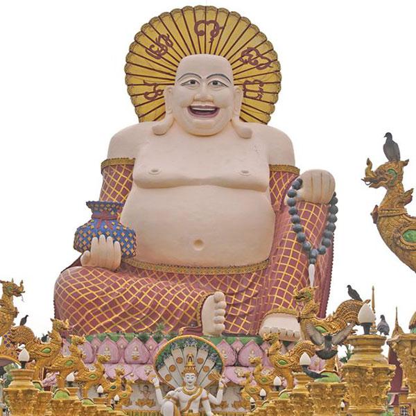 Lady-Monk-Temple-koh-samui-tours